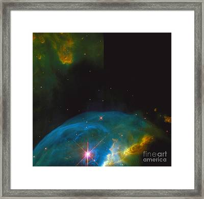 Bubble Nebula Framed Print by Space Telescope Science Institute / NASA