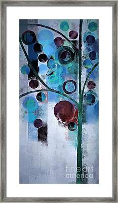 Bubble Tree - 055058167-86a7b2 Framed Print by Variance Collections