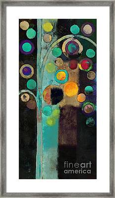Bubble Tree - J122129155rv11 Framed Print by Variance Collections