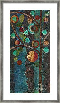 Bubble Tree - Spc02bt05 - Left Framed Print by Variance Collections