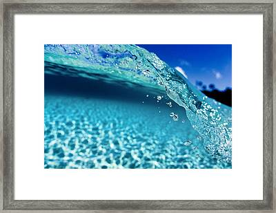 Bubble Wrap Framed Print by Sean Davey
