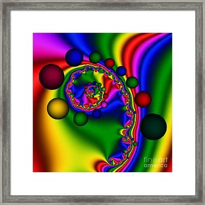 Bubblegum 147 Framed Print by Rolf Bertram