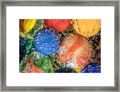 Bubbles Framed Print by James Barber