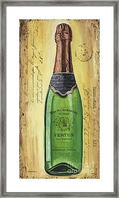 Bubbly Champagne 2 Framed Print by Debbie DeWitt