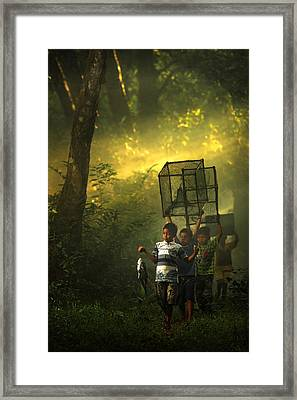 Bubu Framed Print by Andre Arment