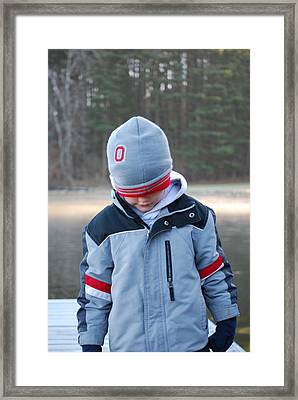 Buckeye Framed Print by Peter  McIntosh