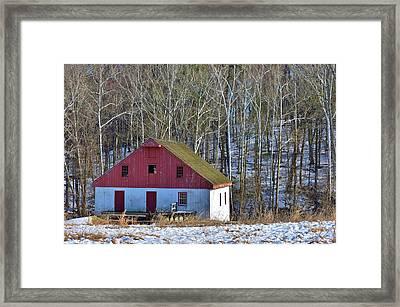 Bucks County Mill  Framed Print by Val Arie
