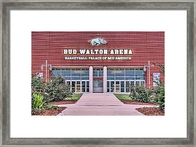 Bud Walton Arena Framed Print by JC Findley