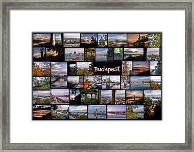 Budapest In October Framed Print by Janos Kovac