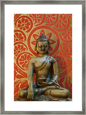 Buddha 2 Framed Print by Edward Myers