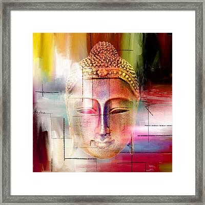 Buddha  4 Framed Print by Mark Ashkenazi
