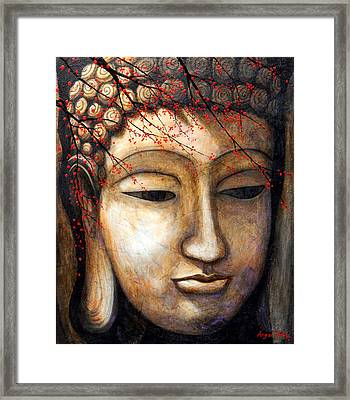 Buddha Framed Print by Angel Ortiz