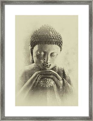 Buddha Dream Framed Print by Madeleine Forsberg