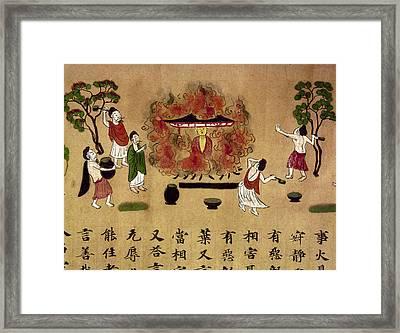 Buddha Framed Print by Granger