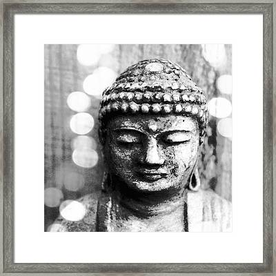 Buddha Framed Print by Linda Woods