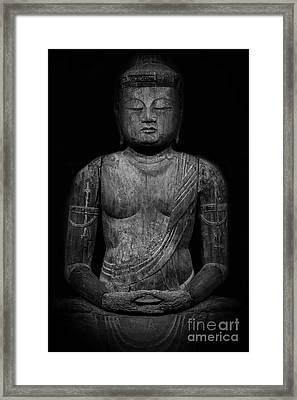 Buddha Mahavairocana Framed Print by Edward Fielding