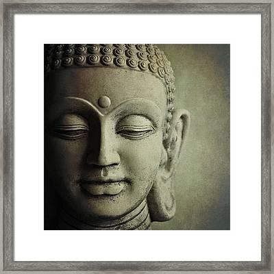 Buddha Framed Print by Photo - Lyn Randle