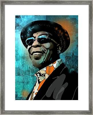 Buddy Guy Framed Print by Paul Sachtleben