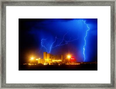 Budweiser Power Dream Framed Print by James BO  Insogna