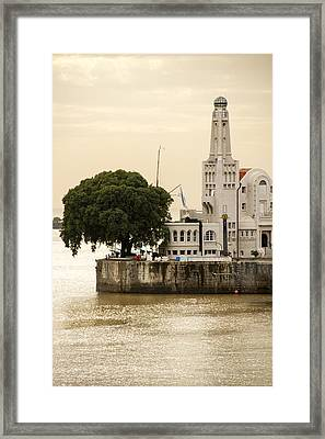 Buenos Aires Lighthouse Framed Print by For Ninety One Days