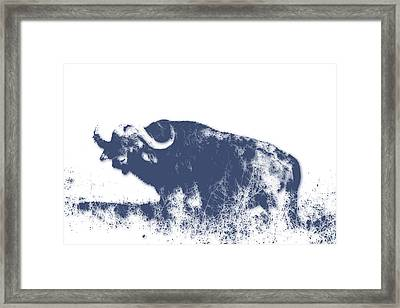Buffalo Framed Print by Joe Hamilton