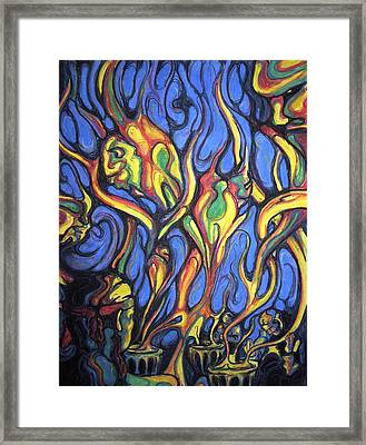 Buffalo Spirits Framed Print by John Benko