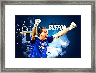 Buffon Framed Print by Semih Yurdabak