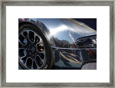Bugatti Front Framed Print by Michael Albright
