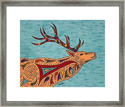 Bugle Boy Framed Print by Susie WEBER