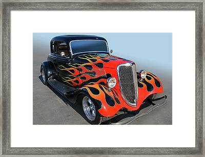 Builders Choice Framed Print by Bill Dutting