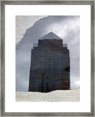 Surface Structure Framed Print by Ross Odom