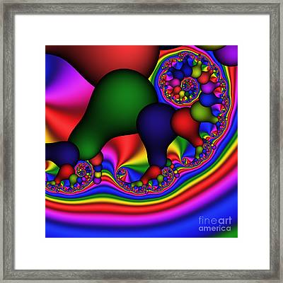 Bulb Spiral 197 Framed Print by Rolf Bertram