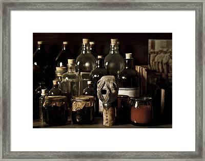Bulbo Framed Print by Francesca Dalla benetta