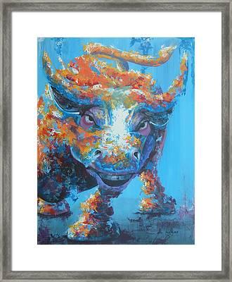 Bull Market C1 Framed Print by John Henne