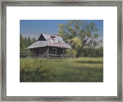 Bulldog Country Framed Print by Peter Muzyka