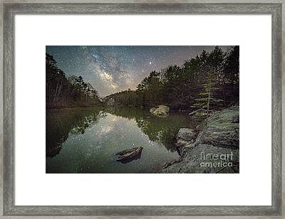 Bunganuc Landing At Night Framed Print by Benjamin Williamson