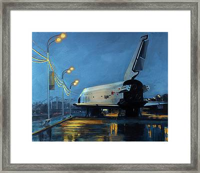Buran Framed Print by Simon Kregar