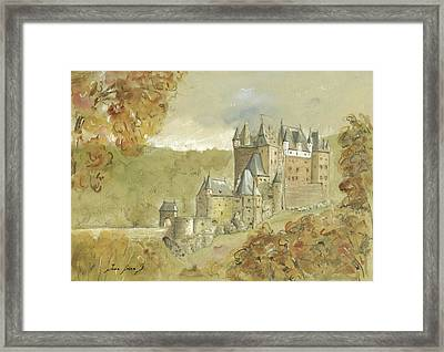 Burg Eltz Castle Framed Print by Juan Bosco