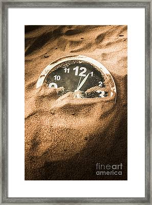 Buried In The Sands Of Time Framed Print by Jorgo Photography - Wall Art Gallery