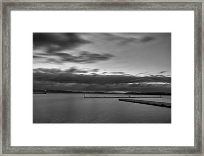 Burlington Docks Framed Print by Mike Horvath