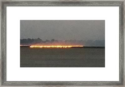 Burn Ban Not Framed Print by Diann Blevins