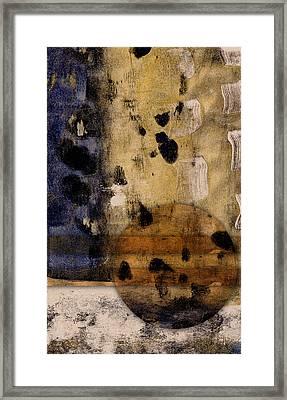Burning Bright Framed Print by Carol Leigh