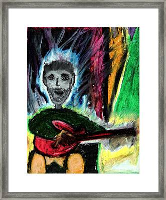 Burning Desire Framed Print by Levi Glassrock