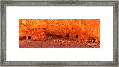 Burning For Centuries Framed Print by Adam Jewell