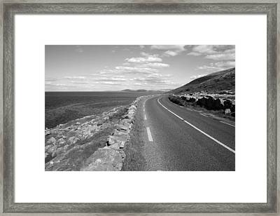 Burren Road Framed Print by John Quinn
