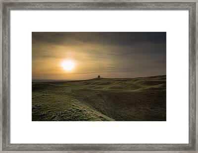 Burton Dassett Framed Print by Chris Fletcher