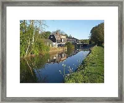 Burtons Mill Framed Print by Gill Billington