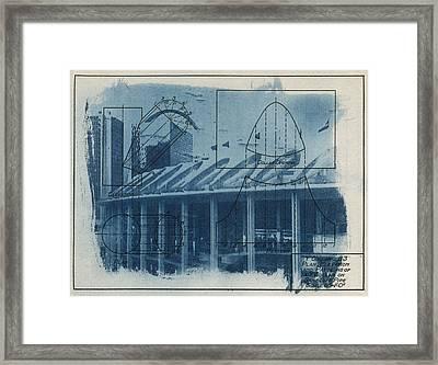 Busch Stadium Framed Print by Jane Linders