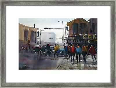 busy day, Nashville Framed Print by Ryan Radke