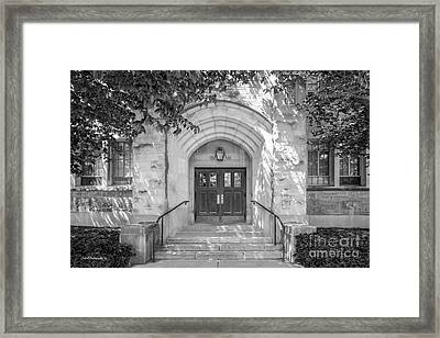 Butler University Doorway Framed Print by University Icons